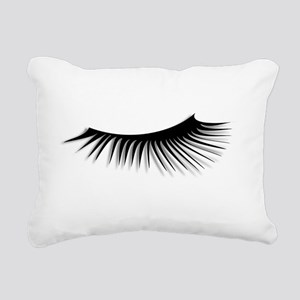 Eye Lash Rectangular Canvas Pillow