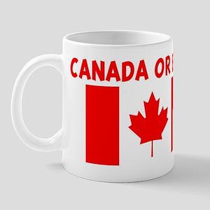 CANADA OR BUST Mug
