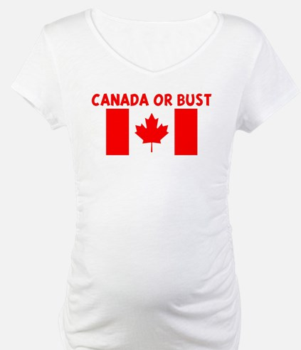 CANADA OR BUST Shirt