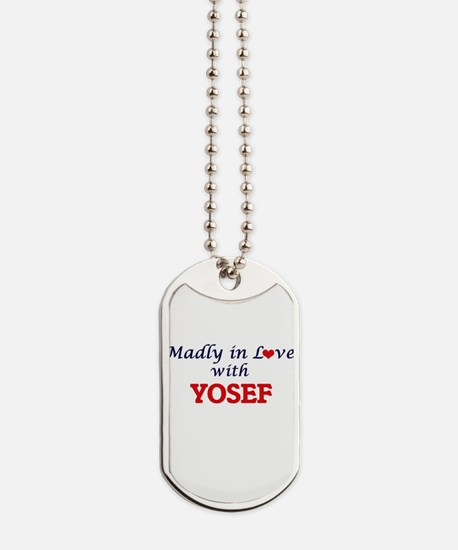 Madly in love with Yosef Dog Tags
