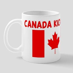 CANADA KICKS ASS Mug