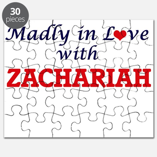 Madly in love with Zachariah Puzzle