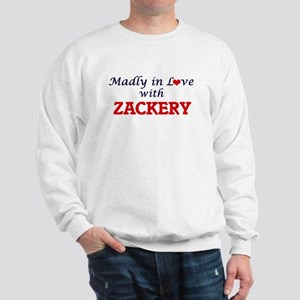 Madly in love with Zackery Sweatshirt