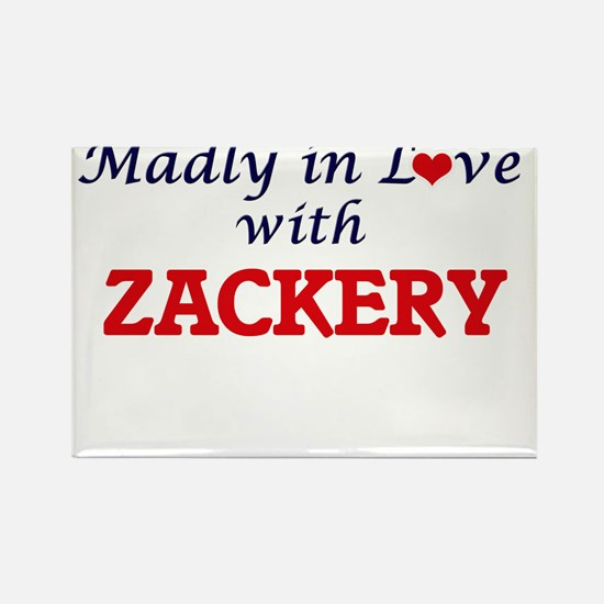 Madly in love with Zackery Magnets
