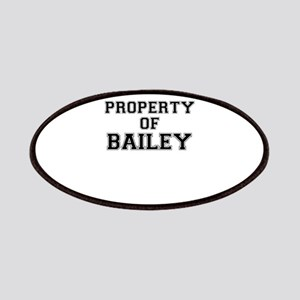Property of BAILEY Patch