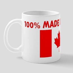 100 PERCENT MADE IN CANADA Mug