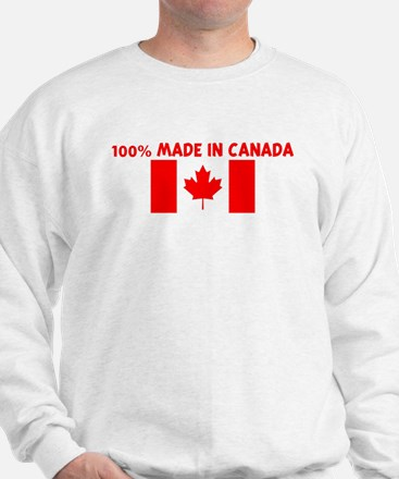100 PERCENT MADE IN CANADA Sweater