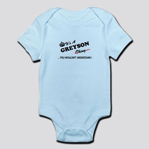 GREYSON thing, you wouldn't understand Body Suit