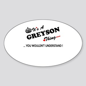 GREYSON thing, you wouldn't understand Sticker