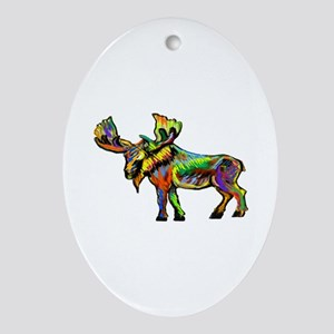 MOOSE Oval Ornament