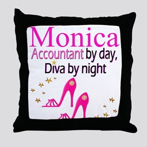 #1 ACCOUNTANT Throw Pillow
