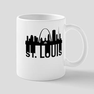 Roots Of Saint Louis MO Skyline Mugs