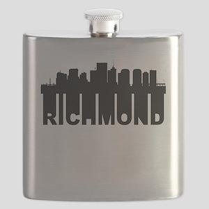 Roots Of Richmond VA Skyline Flask