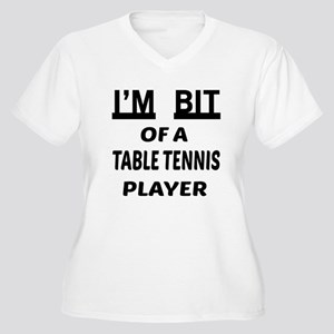 I'm bit of a Tabl Women's Plus Size V-Neck T-Shirt