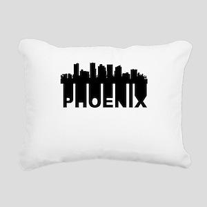 Roots Of Phoenix AZ Skyline Rectangular Canvas Pil