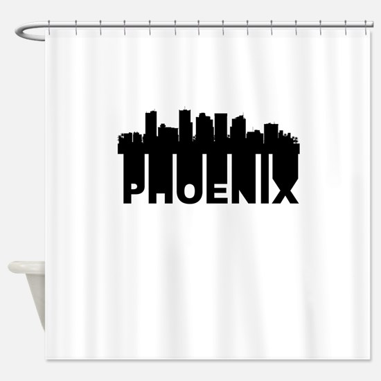 Roots Of Phoenix AZ Skyline Shower Curtain