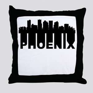 Roots Of Phoenix AZ Skyline Throw Pillow