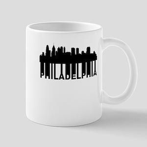 Roots Of Philadelphia PA Skyline Mugs