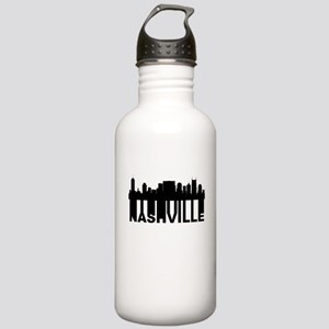 Roots Of Nashville TN Skyline Water Bottle