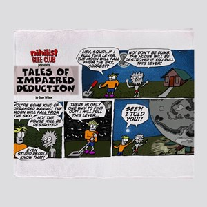 Tales of Impaired Deduction Throw Blanket