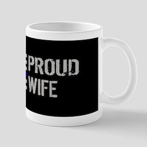 Police: Proud Wife Mug