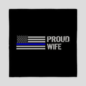 Police: Proud Wife Queen Duvet