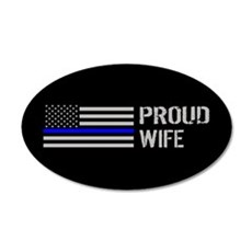 Police: Proud Wife Wall Decal