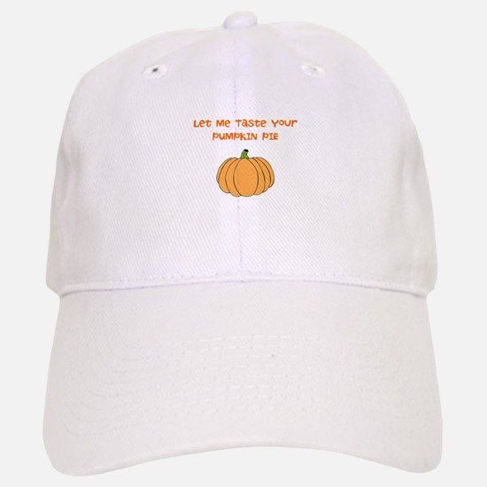 Pumpkin Pie Baseball Baseball Baseball Cap