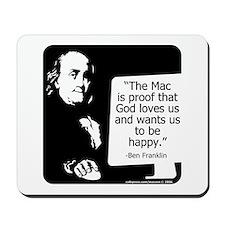 Ben Franklin Mousepad