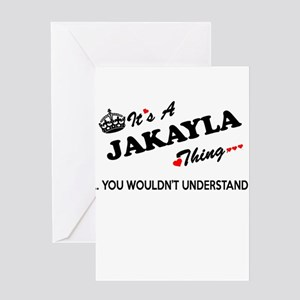 JAKAYLA thing, you wouldn't underst Greeting Cards