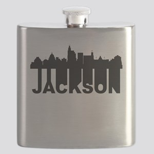 Roots Of Jackson MS Skyline Flask