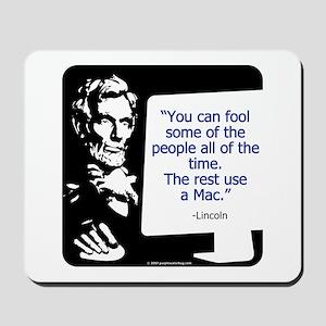 Lincoln Mac Mousepad
