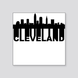 Roots Of Cleveland OH Skyline Sticker