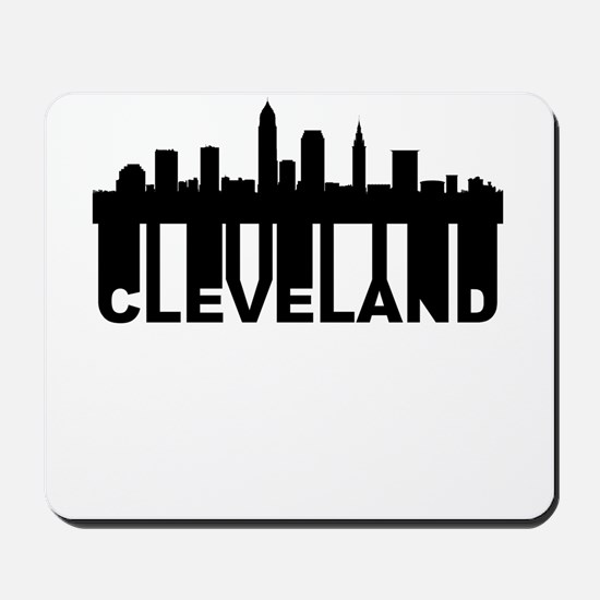 Roots Of Cleveland OH Skyline Mousepad