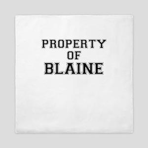 Property of BLAINE Queen Duvet