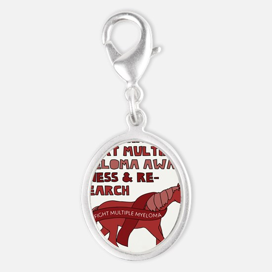 Unicorns Support Multiple Myeloma Awareness Charms