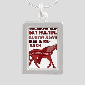 Unicorns Support Multiple Myeloma Awaren Necklaces
