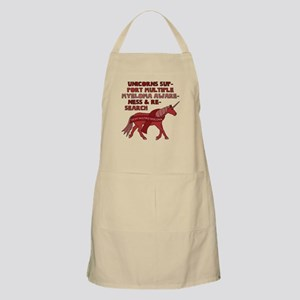 Unicorns Support Multiple Myeloma Awareness Apron