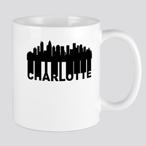 Roots Of Charlotte NC Skyline Mugs