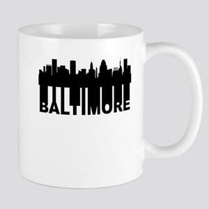 Roots Of Baltimore MD Skyline Mugs