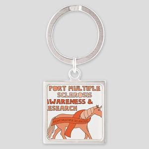 Unicorns Support Multiple Sclerosis Awar Keychains