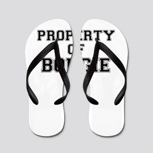 Property of BOUGIE Flip Flops