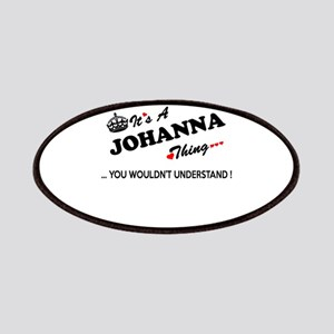 JOHANNA thing, you wouldn't understand Patch