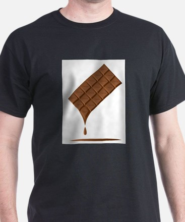Chocolate Bar Melting T-Shirt