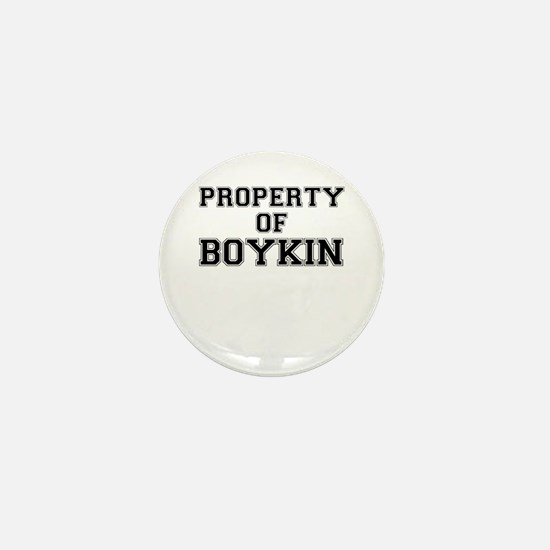 Property of BOYKIN Mini Button
