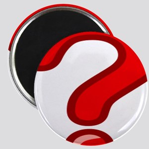 Red Question Mark Magnets