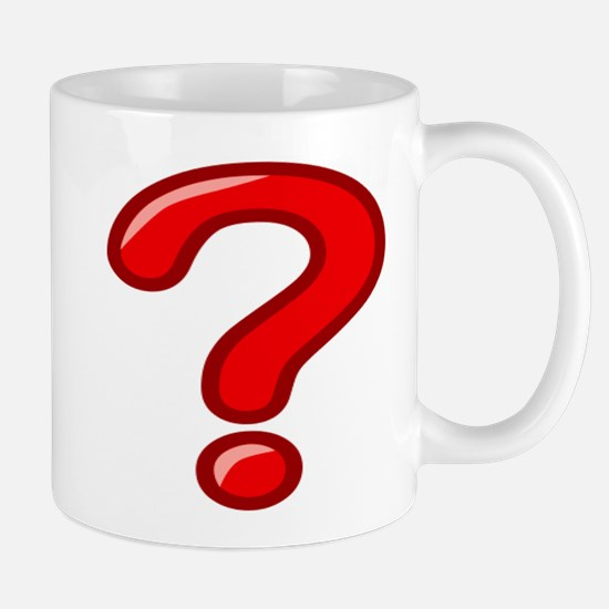 Red Question Mark Mugs