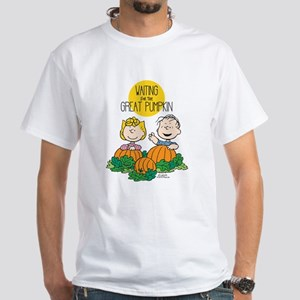 The Great Pumpkin Is Coming White T-Shirt