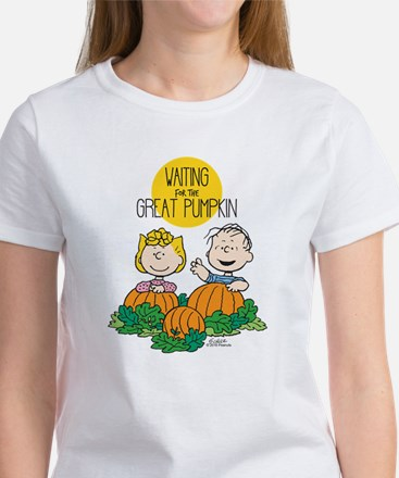 The Great Pumpkin Is Coming Women's T-Shirt