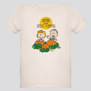The Great Pumpkin Is Coming Organic Kids T-Shirt